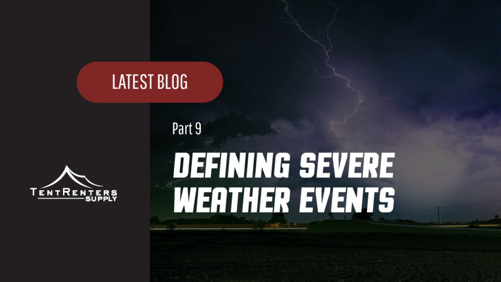 TRS - Defining Severe Weather