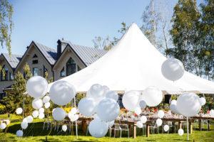 Enhance Backyard Party Tent Rental | Tent Renter's Supply