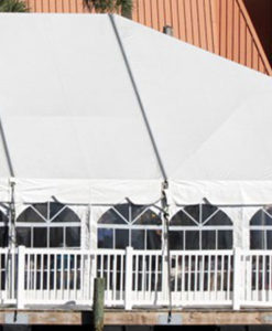 30' Wide One Piece HIP Style Tents