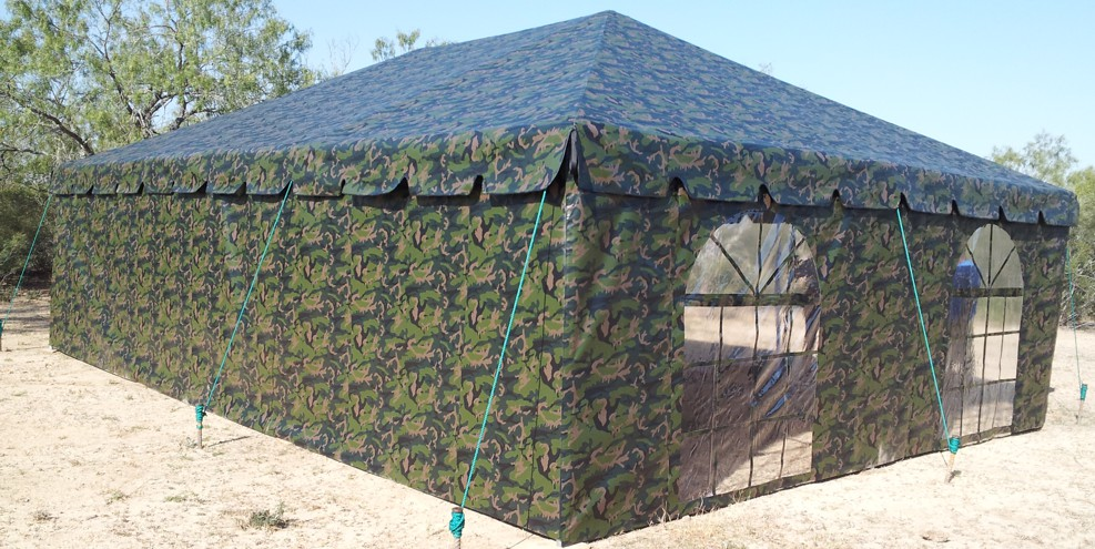 Custom Built Manufactured Tents