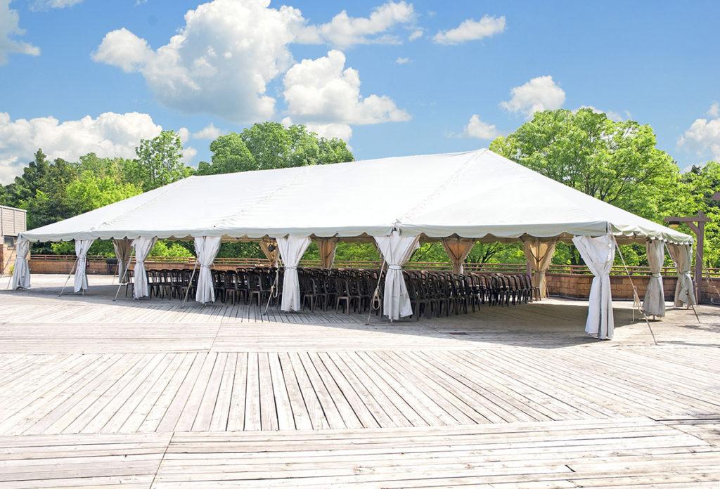 Summer Wedding Tent | Tent Renter's Supply