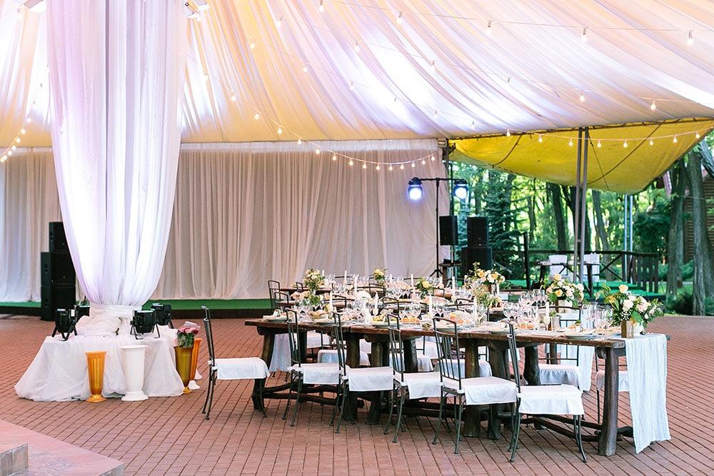 custom wedding tents